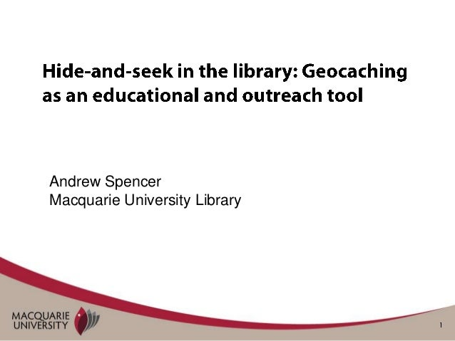 Andrew SpencerMacquarie University Library