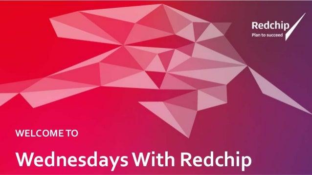 Wednesdays With Redchip WELCOMETO