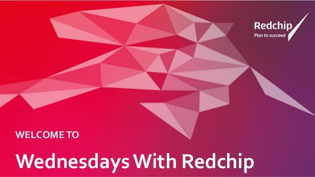 Wednesdays With Redchip WELCOMETO