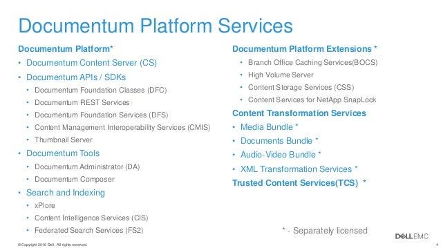 documentum admin resume