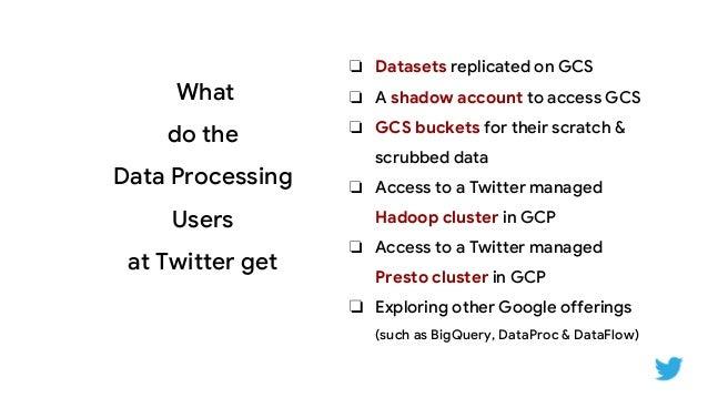 Extending Twitter's Data Platform to Google Cloud