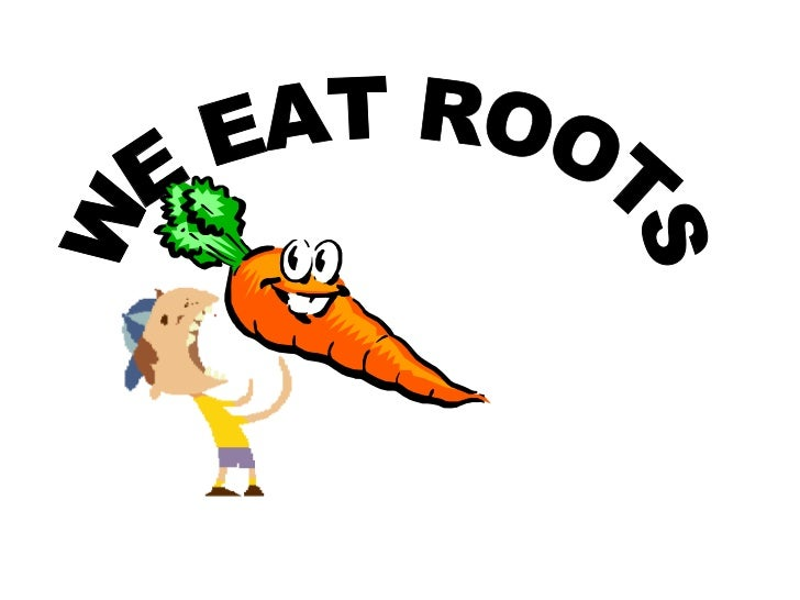 WE EAT ROOTS