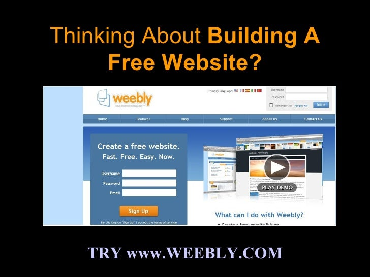 A Weebly Review - An Absolutely Free Website Builder Guide