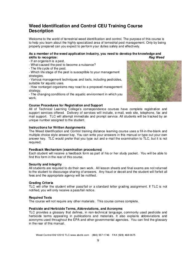 Pest Control License: Application Form For Pest Control License