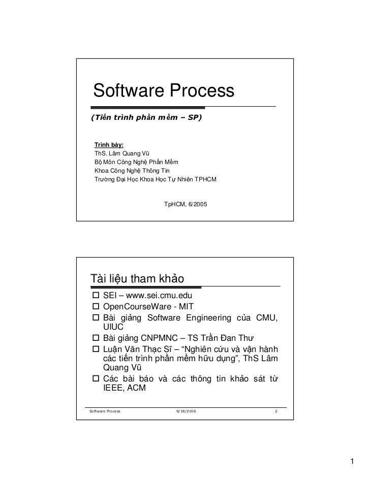 Week 03-software process