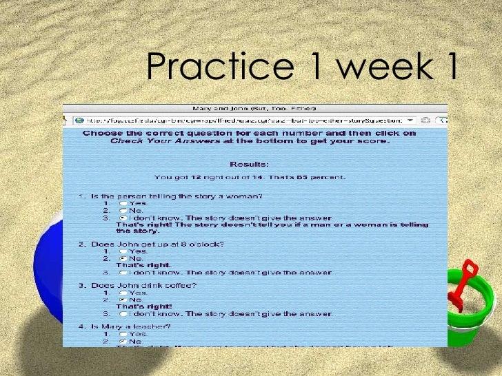 Practice 1 week 1