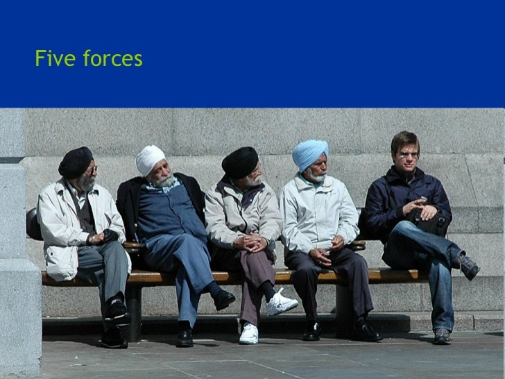 <ul><li>Five forces </li></ul>