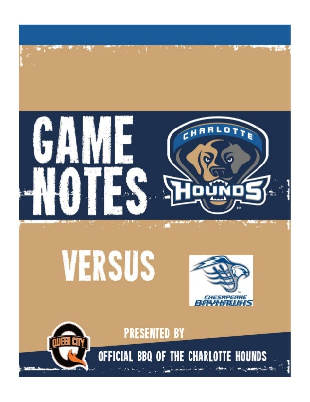 2014 Weekly Game Notes CURRENT LEAGUE STANDINGS Team Win Loss GB Denver Outlaws 2 0 - Ohio Machine 1 1 1 Boston Cannons 1 ...