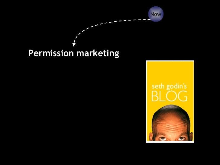 Permission marketing Now