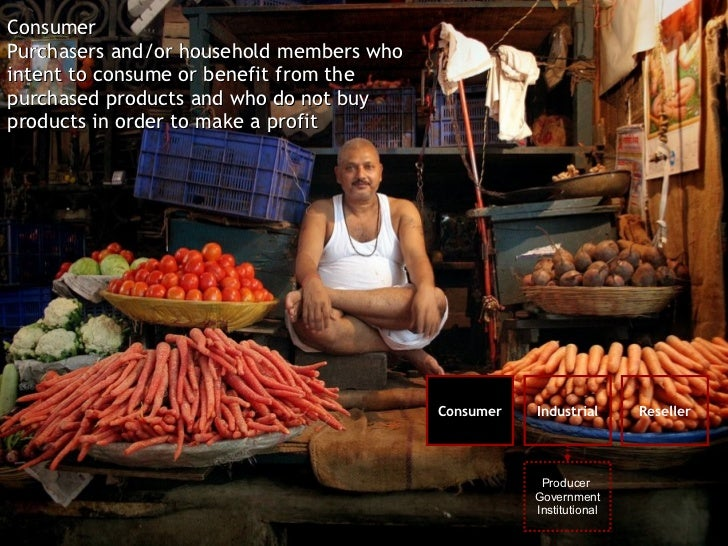 Consumer Purchasers and/or household members who intent to consume or benefit from the purchased products and who do not b...