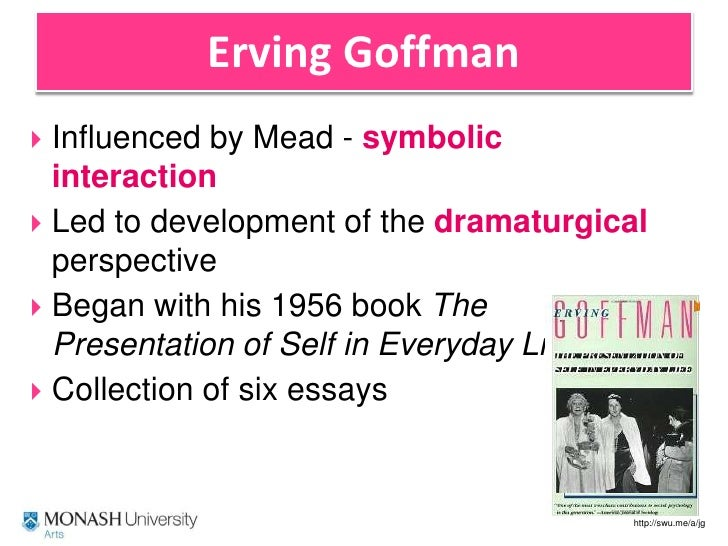 impression management erving goffman Posts about goffman self-impersonation and social life in this chapter lawler deals with the work of erving goffman and impression management.