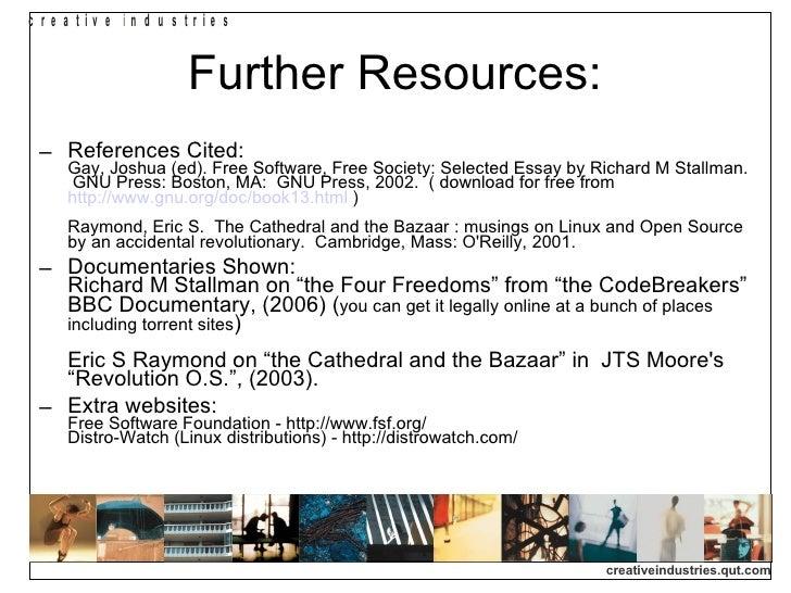 Principles of open source essay