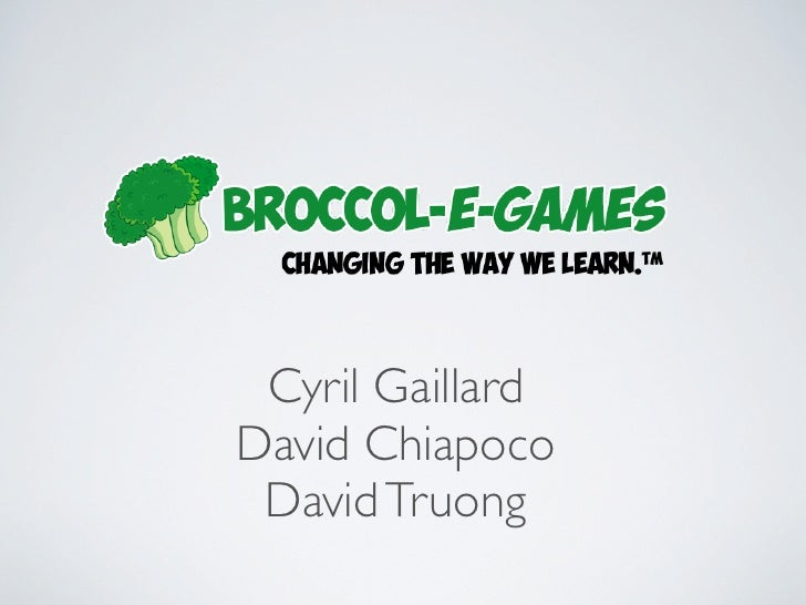 Cyril GaillardDavid Chiapoco David Truong