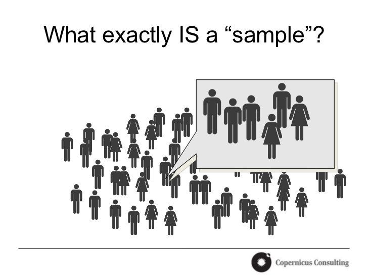 """What exactly IS a """"sample""""?"""