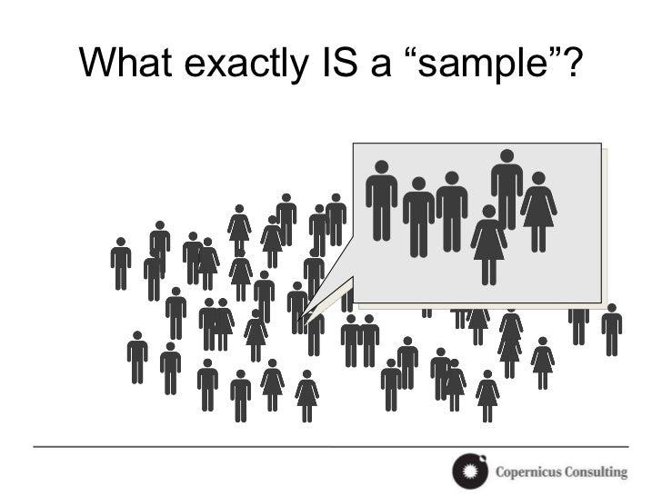 reseach sample