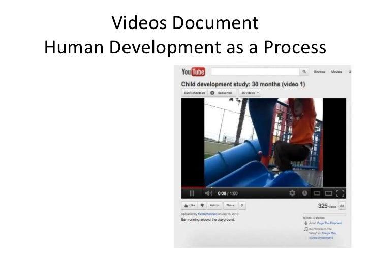 Videos DocumentHuman Development as a Process