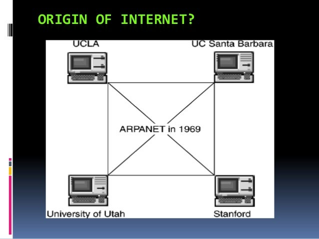 an introduction to the history and the origins of the internet History of the internet: a chronology, 1843 to the present the origins of the internet a section heading in the introduction of chapter 2.