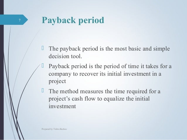 how do companies measure payback years on investment pdf