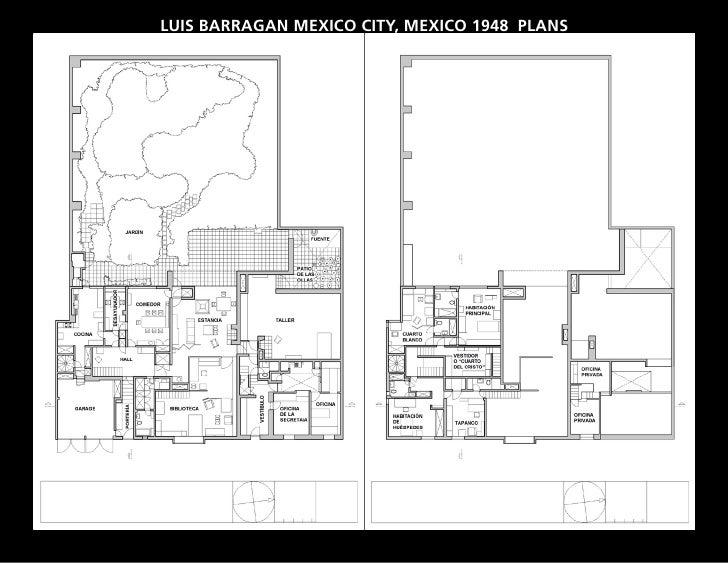 barragan house plan - 28 images - luis barrag 225 n, casa