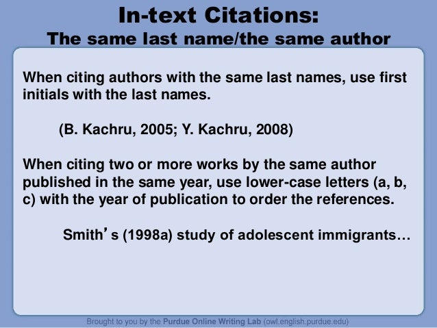 how to cite two authors in text