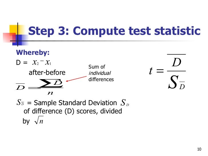 Dependent t test ccuart Choice Image