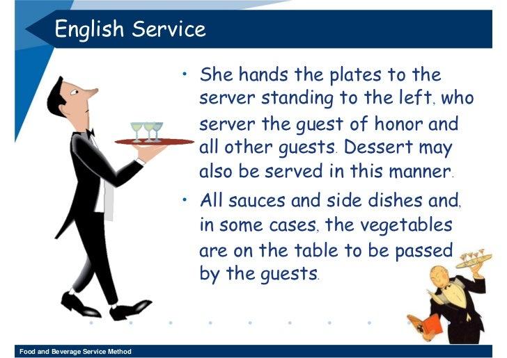 English ...  sc 1 st  SlideShare & Week 11 - 12 Food And Beverage Service Method 3-2552