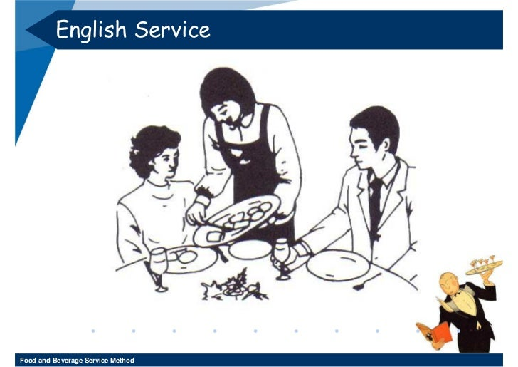 English Food And Beverage Service Style