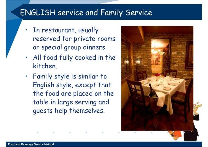 Week 11 12 Food And Beverage Service Method 3 2552