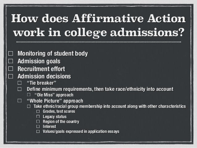 affirmative action pros and cons essay Advantages and disadvantages of affirmative action affirmative action is a government policy  ib program pros and cons list.