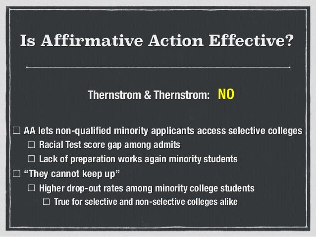 is affirmative action effective Affirmative action under executive order 11246 ranks among the most controversial of domestic while not well targeted are also found to have been effective.