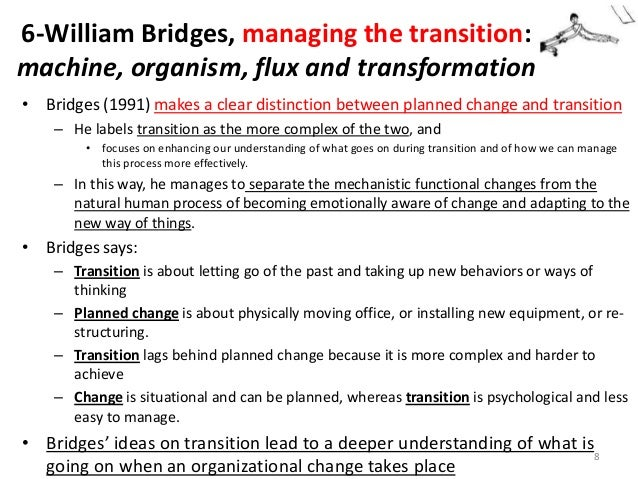 william bridges transition model pdf
