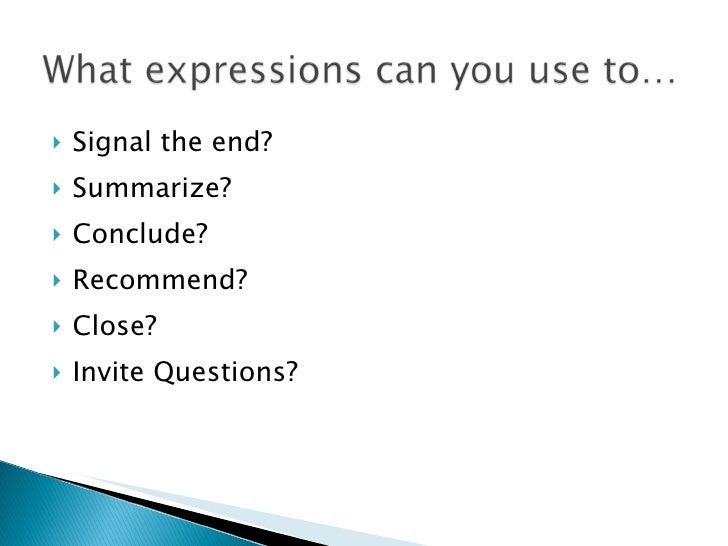 Public Speaking & Presentation - Week11 question time