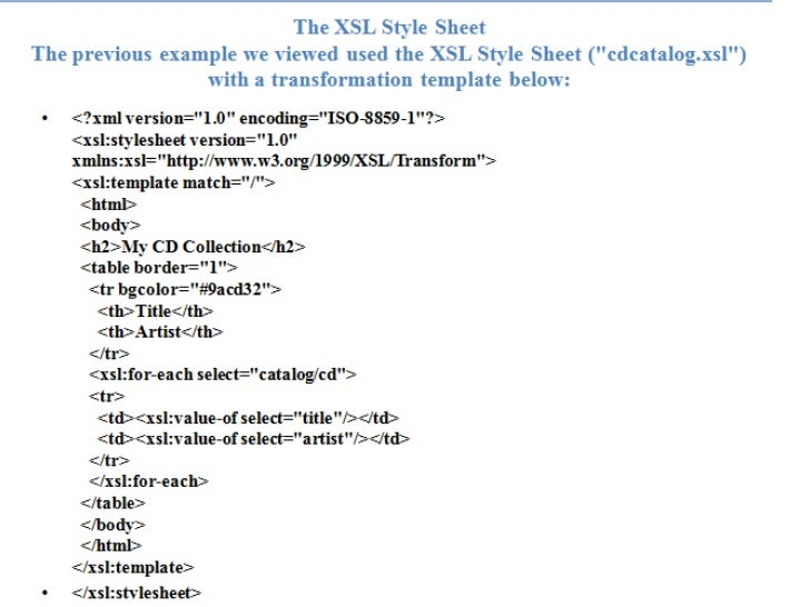 week 11 displaying your xml files with css and xlst