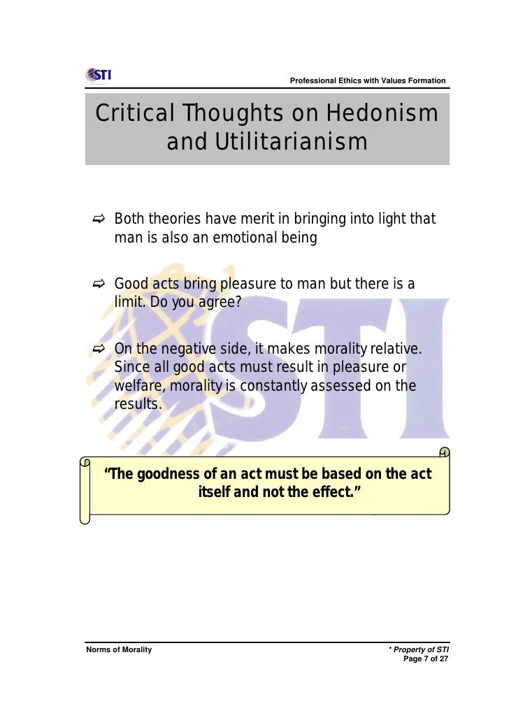 utilitarianism and altruistic acts I'm specifically thinking of js mill's version of utilitarianism typically, his ethics are thought to be altruistic, and in most cases this seems to be true.