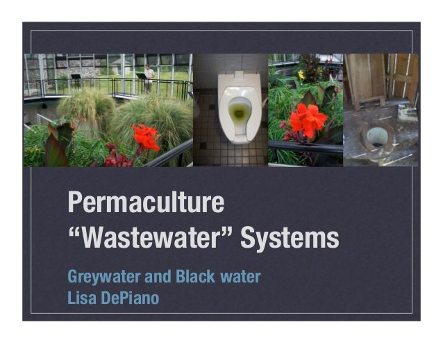 """Permaculture""""Wastewater"""" SystemsGreywater and Black waterLisa DePiano"""