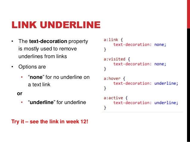 Week 12 Css Font Links