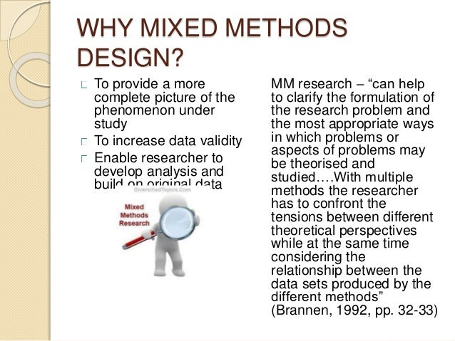Mixed methods thesis