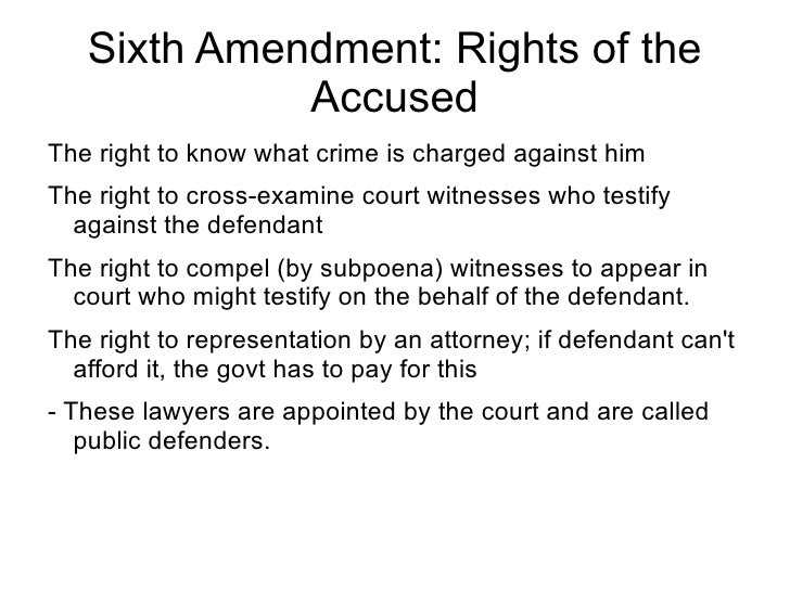 74 Sixth Amendment Rights