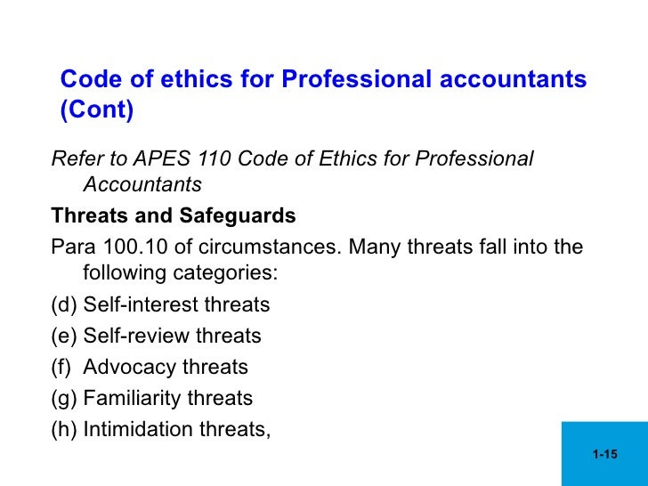 ethics in accounting profession A global standard for professional ethics  you should know about the accounting, auditing, ethics and quality control standards that affect the engagement and your .