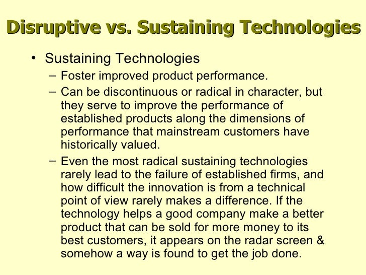 Is There a Difference Between Innovation and Disruption?