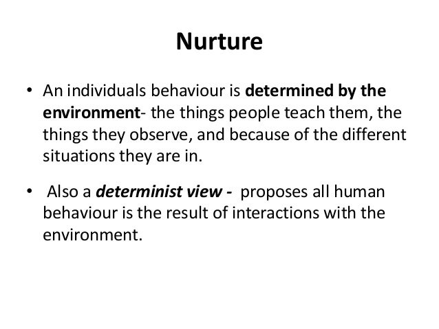 Adopted Examples For Nature Vs Nurture