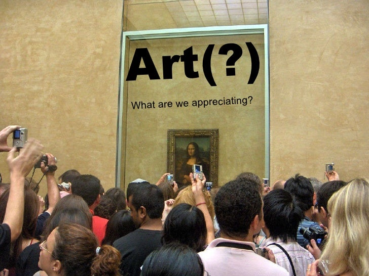Art(?) What are we appreciating?