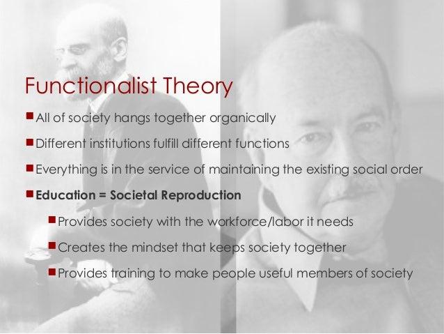durkheims functionalist theory Durkheim as a functionalist created date: 20160806145719z.