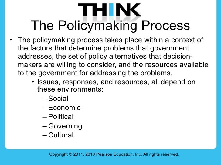 policy making processes Policy making in the real world: contents  the institute's better policy making theme  of realistic processes leaves too much in policy making to.