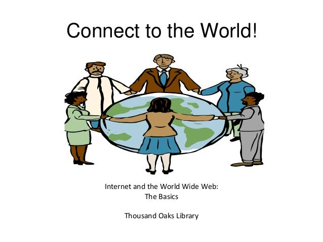 introduction to the internet and online Over the last 15 years, the internet has challenged libraries'  for all manner of questions or circumstances is now possible online,.