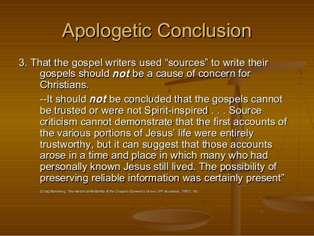 source criticism Source criticism involves attempting to identify the sources which a particular author may have relied upon in composing a certain document this methodology has particular application in any analysis of documents in the church testament.