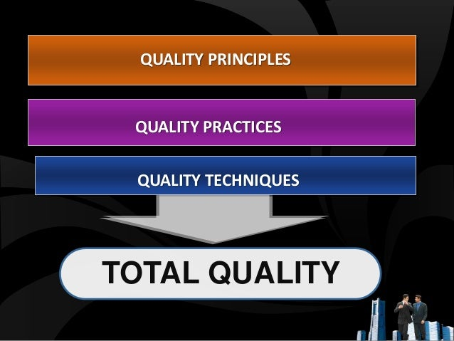 introduction to total quality management Key words: quality assurance, total quality control, total quality management ( tqm), pharmaceutical introduction the pharmaceutical industry, as a vital.
