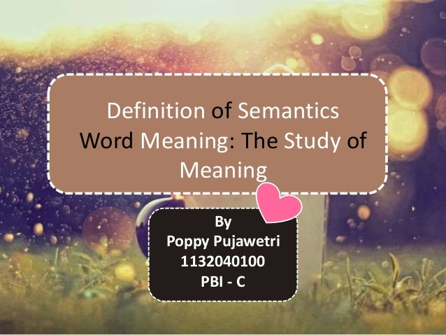 semantics and meaning Semantics-as-a-service can be delivered as a real-time service to enable organizations to instantly update their semantics models as changes happen, or manage their semantics with regular and consistent updates.