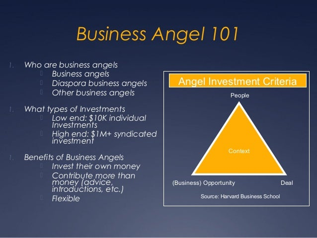 Business Angel 1011.   Who are business angels         Business angels         Diaspora business angels      Angel Inves...