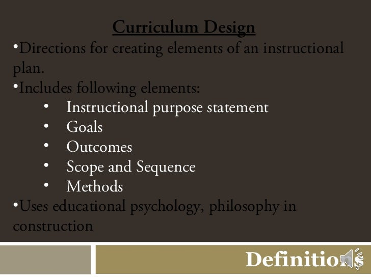 powerpoint definitions of curriculum and christian education